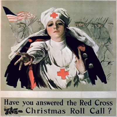 Have You Answered the Red Cross Christmas Roll Call?', 1st World War Poster--Giclee Print