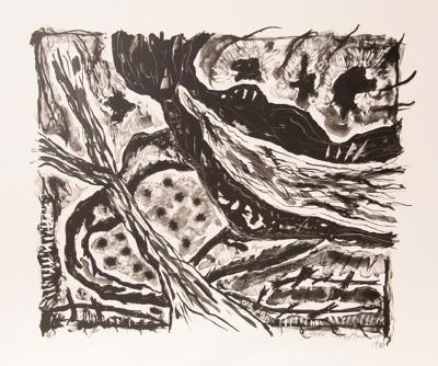 Haven (Black and White)-Gregory Amenoff-Limited Edition