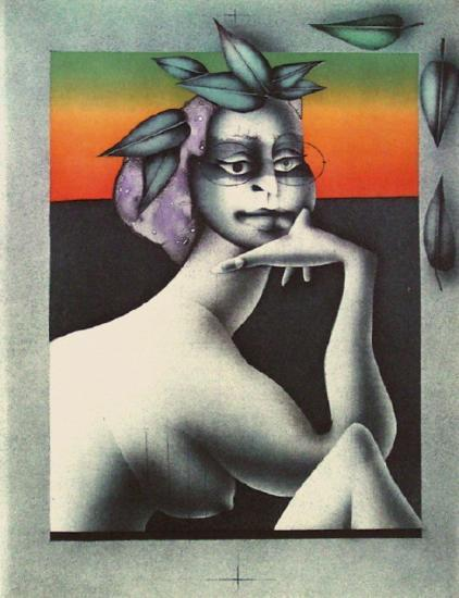 Haven II-Paul Wunderlich-Collectable Print