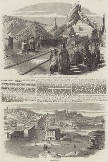 Haverfordwest Railway--Giclee Print