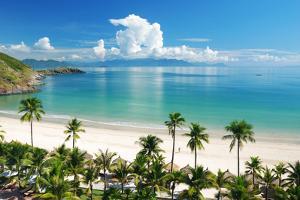 Beach Scene, Tropics, Pacific Ocean by haveseen