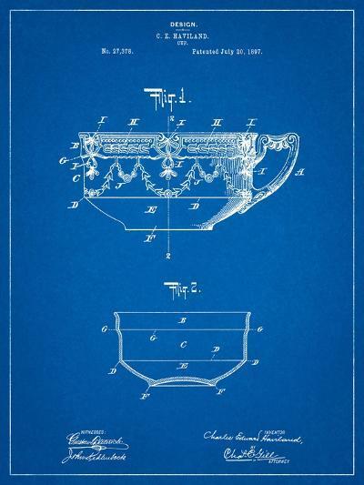 Haviland Demitasse Tea Cup Patent-Cole Borders-Art Print