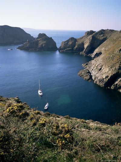 Havre Gosselin, Looking North to Gouliot Headland, West Coast, Sark, Channel Islands-Geoff Renner-Photographic Print