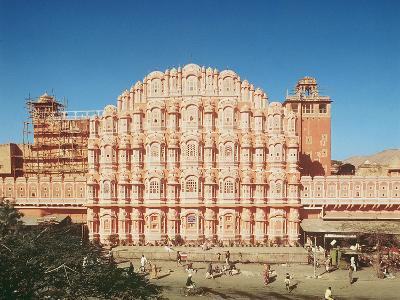 Hawa Mahal (Palace of the Winds) Built in 1799 (See also 121219 and 208425)--Photographic Print