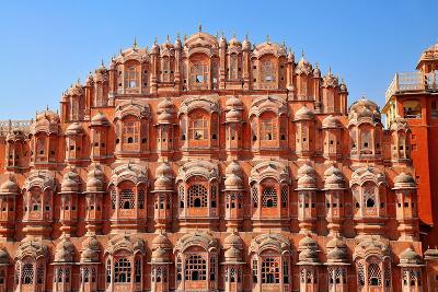 Hawa Mahal (Palace of Winds), Built in 1799, Jaipur, Rajasthan, India, Asia-Godong-Photographic Print