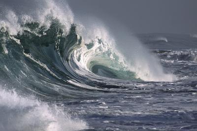 Hawaii, Big Powerful Wave Break-Design Pics Inc-Photographic Print