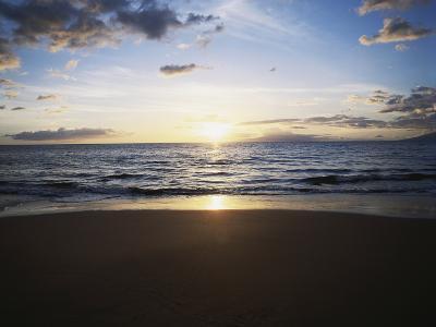Hawaii Islands, Maui, View of Wailea Beach-Douglas Peebles-Photographic Print