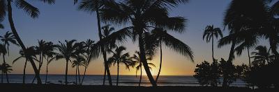 Hawaii Islands, Oahu, View of Beautiful Sunset of Sea-Douglas Peebles-Photographic Print