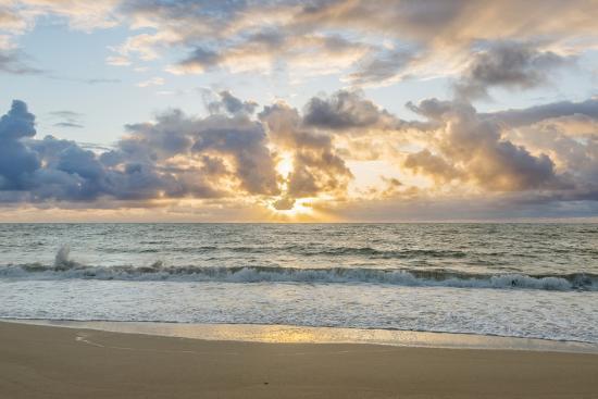 Hawaii, Kauai, Kealia Beach Sunrise-Rob Tilley-Photographic Print