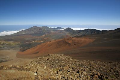 Hawaii, Maui, Haleakala Crater Landscape-Design Pics Inc-Photographic Print