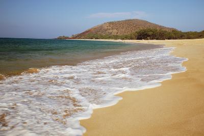 Hawaii, Maui, Makena, Big Beach on a Sunny Day-Design Pics Inc-Photographic Print