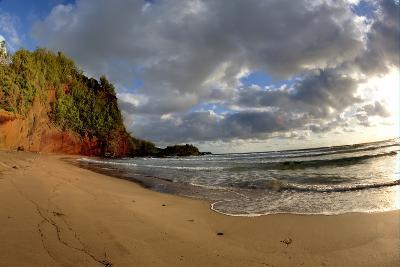 Hawaii, Maui, Sunrise Near Hana on the North Coast of Maui-Terry Eggers-Photographic Print