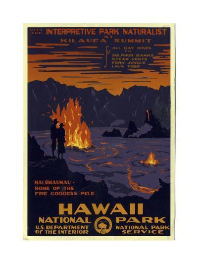 Hawaii National Park--Giclee Print