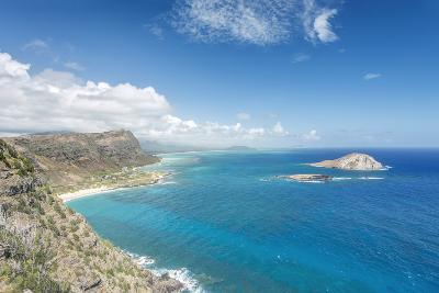 Hawaii, Oahu, North Shore from Makapu'U Point-Rob Tilley-Photographic Print