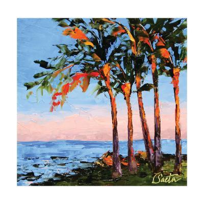 Hawaii Shores-Leslie Saeta-Art Print
