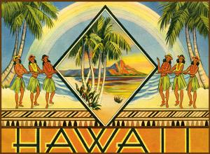 Hawaii Travel Brochure, c.1943