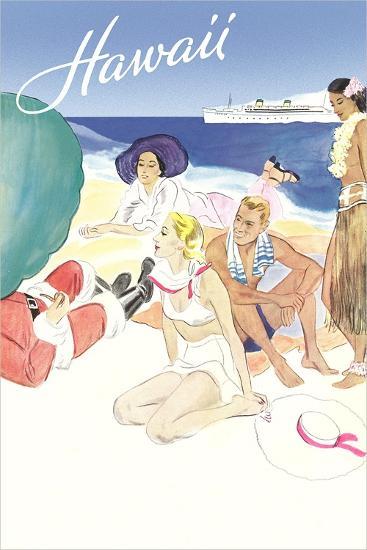 Hawaii Travel Poster--Art Print
