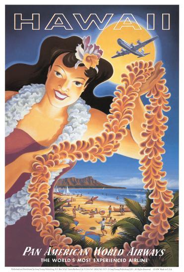 Hawaii--Art Print