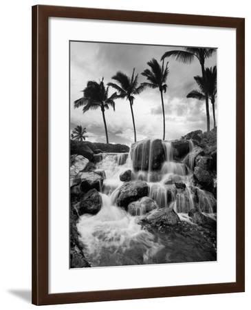 Hawaiian Falls, Big Island-Monte Nagler-Framed Photographic Print