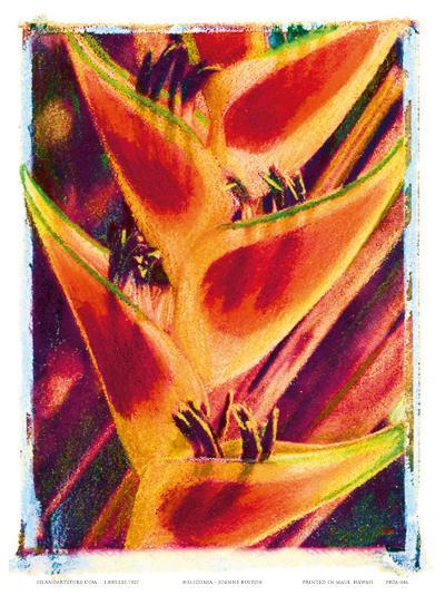 Hawaiian Heliconia-Joanne Bolton-Art Print