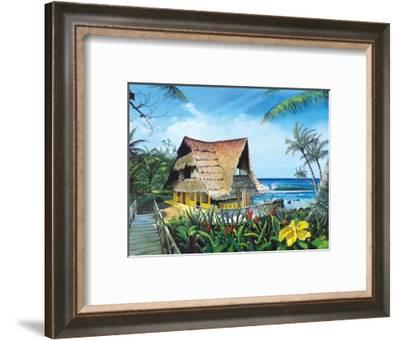 Hawaiian Hideaway-Scott Westmoreland-Framed Art Print