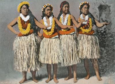 Hawaiian Hula Dancers, c.1880