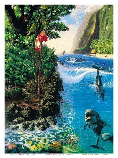 Hawaiian Island Harmony-Andrew Annenberg-Art Print