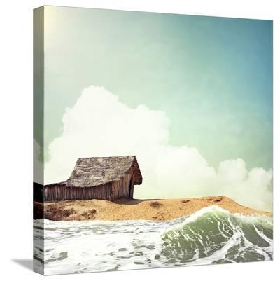 Hawaiian Memories V--Stretched Canvas Print