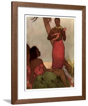 Hawaiian Night-John Kelly-Framed Giclee Print