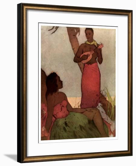 Hawaiian Night-John Kelly-Framed Giclee Print