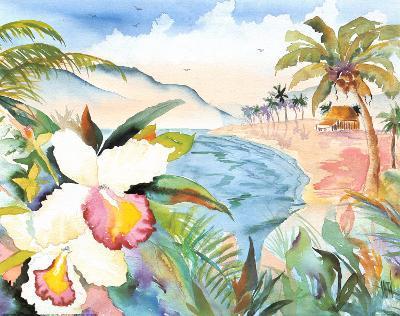 Hawaiian Orchids-Terry Madden-Art Print