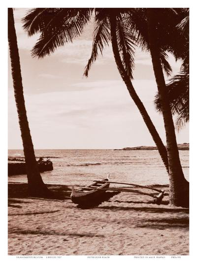 Hawaiian Outrigger Canoe--Art Print