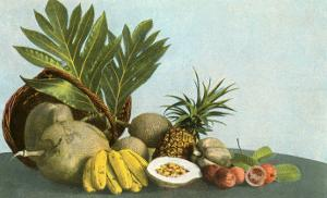 Hawaiian Tropical Fruits