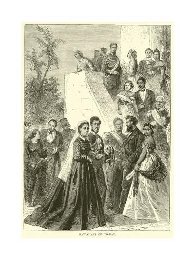 Hawaiians of To-Day--Giclee Print