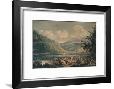 'Hawes Water, Westmorland', c1790, (1935)-Edward Dayes-Framed Giclee Print