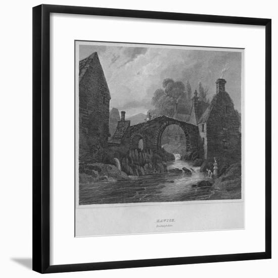 'Hawick, Roxburghshire', 1814-John Greig-Framed Premium Giclee Print
