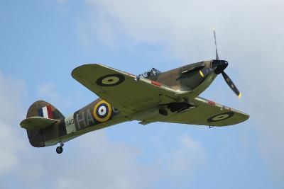 Hawker Hurricane World War Ii Fighter Plane of the Royal Air Force-Stocktrek Images-Photographic Print