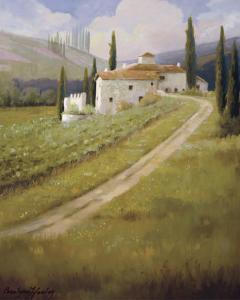 Tuscany Vineyard by Hawley