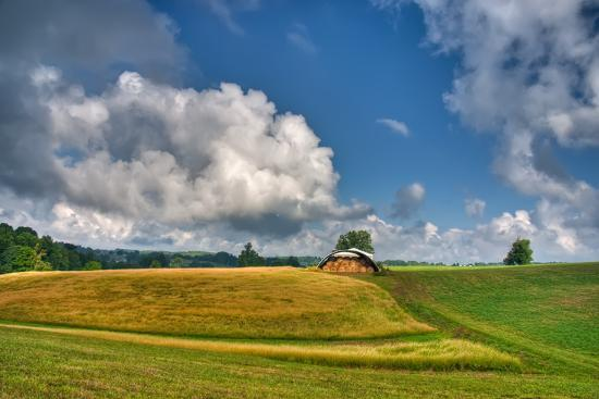 Hay Field-Bob Rouse-Photographic Print