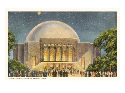 Hayden Planetarium, New York City--Art Print