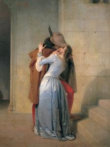 The Kiss by Hayez Francesco