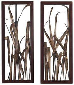 Hayfield-Grass Wall Decor Set
