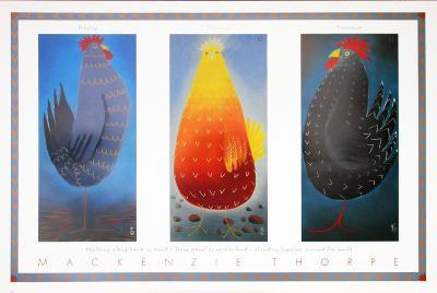 Hayley, Lorraine and Lawrence-Mackenzie Thorpe-Art Print