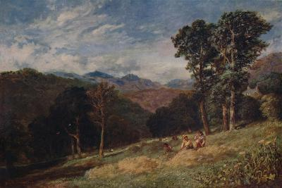 Haymaking, near Conway, c1852-David Cox the elder-Giclee Print