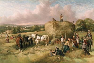 Haymaking-John James Wilson-Giclee Print