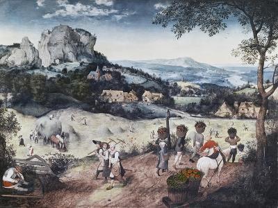 Haymaking-Pieter Bruegel the Elder-Giclee Print
