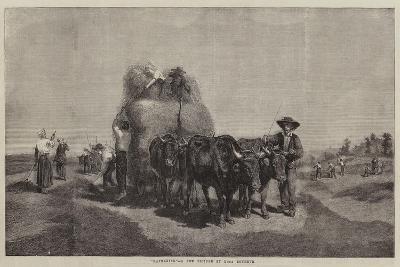Haymaking-Rosa Bonheur-Giclee Print