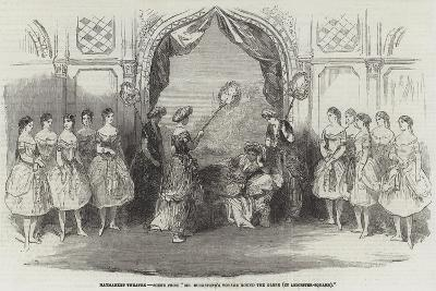 Haymarket Theatre, Scene from Mr Buckstone's Voyage Round the Globe, in Leicester-Square--Giclee Print