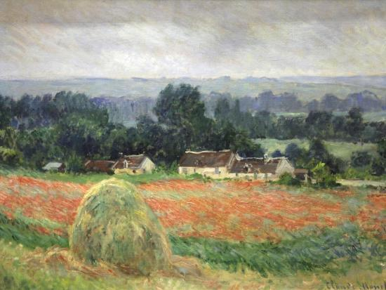Haystack at Giverny, 1886-Claude Monet-Premium Giclee Print
