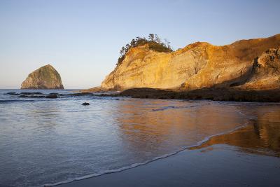 Haystack Rock, Cape Kiwanda, Oregon, USA-Jamie & Judy Wild-Photographic Print